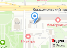 Компания «Союзнаносвет» на карте