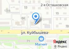 Компания «АвтоТест74» на карте