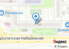 Компания «Тепловодовентиляция» на карте