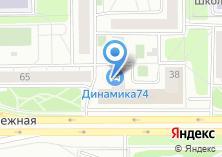 Компания «Урал-дизайн» на карте