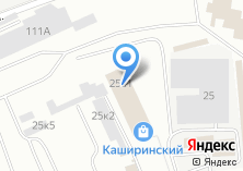 Компания «Акцепт» на карте