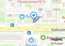Компания «Техноломбард» на карте