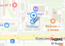 Компания «Красное & Белое сеть магазинов» на карте