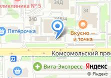 Компания «Синьора Штора» на карте