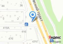 Компания «Уралец» на карте