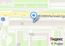 Компания «Пуховик» на карте