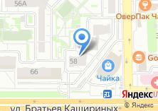 Компания «SIESTA» на карте