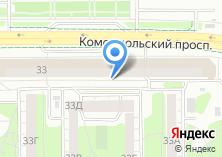 Компания «Газпромбанк» на карте
