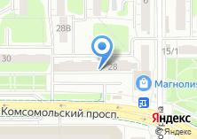 Компания «Мой компьютер!» на карте