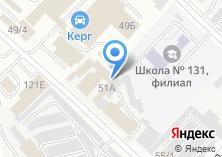 Компания «Железка74» на карте
