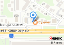 Компания «Сухуми» на карте