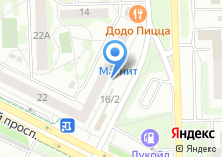 Компания «АКБ ЧЕЛИНДБАНК» на карте