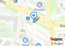 Компания «Банкомат КБ Агропромкредит» на карте