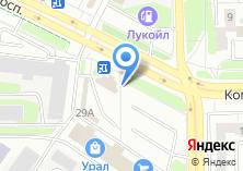 Компания «На Урале» на карте