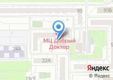 Компания «Учебный центр олимпийской подготовки по дзюдо Челябинской области» на карте