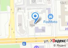 Компания «СДЮСШОР №2 по легкой атлетике им. Л.Н. Мосеева» на карте