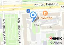 Компания «УРАЛЬСКАЯ ФЕДЕРАЦИЯ ОЦЕНЩИКОВ» на карте