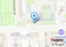 Компания «Центр охраны труда» на карте