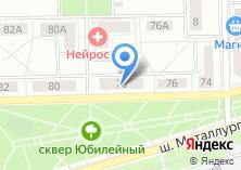Компания «Физрук» на карте