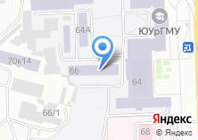 Компания «ЧелГМА» на карте