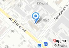 Компания «Ваши Суши» на карте