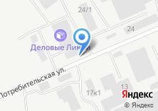Компания «Челябоблтоппром» на карте