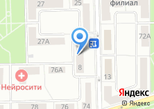 Компания «Привет» на карте