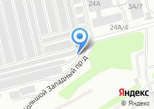 Компания «Омега фабрика потолков» на карте