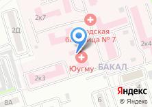 Компания «Клиника» на карте