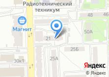Компания «Форт-Электроникс» на карте