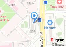Компания «Агентство юридической безопасности» на карте