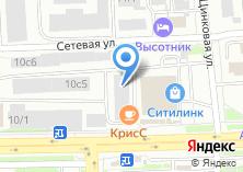 Компания «Грузбери-Челябинск» на карте