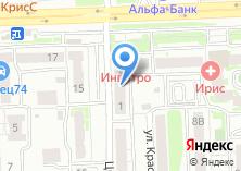 Компания «Металлургкомплект» на карте
