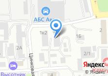 Компания «Техноград» на карте