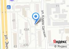 Компания «Уралтранс» на карте