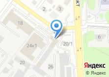 Компания «МОТОгараж» на карте