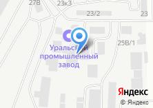 Компания «Челябрезинатехника» на карте