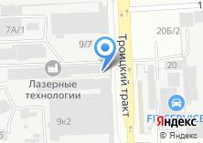 Компания «Н-три» на карте