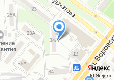 Компания «Челябшвейтрикотажбыт» на карте