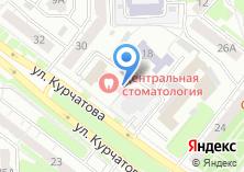 Компания «Центральная стоматология» на карте