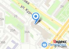 Компания «Союз предприятий стройиндустрии» на карте