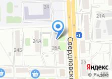 Компания «Надэль» на карте