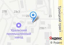 Компания «Вариатор-АВТО» на карте