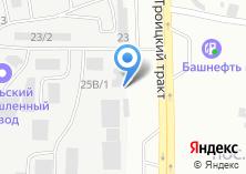 Компания «Сельхоздеталь-Урал» на карте