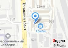 Компания «Министр» на карте