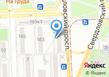 Компания «Швейные машины» на карте