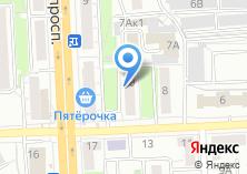Компания «Мировые судьи Курчатовского района» на карте
