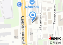 Компания «Автоматизация74» на карте