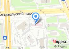 Компания «Областной противотуберкулезный диспансер №2» на карте