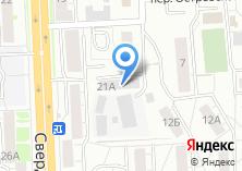 Компания «Теплопроект» на карте